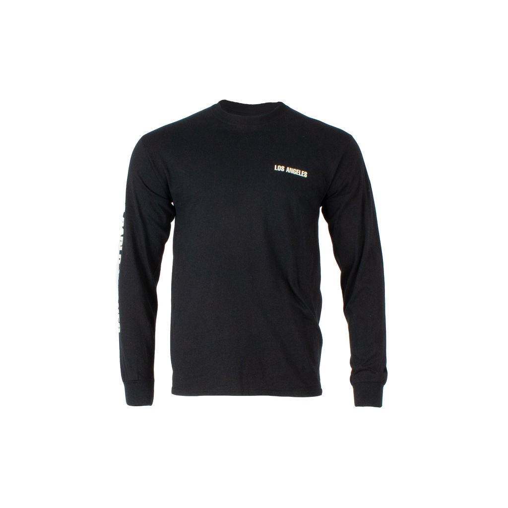 Kanye West Saint Pablo Tour Long Sleeve Shirt in Black