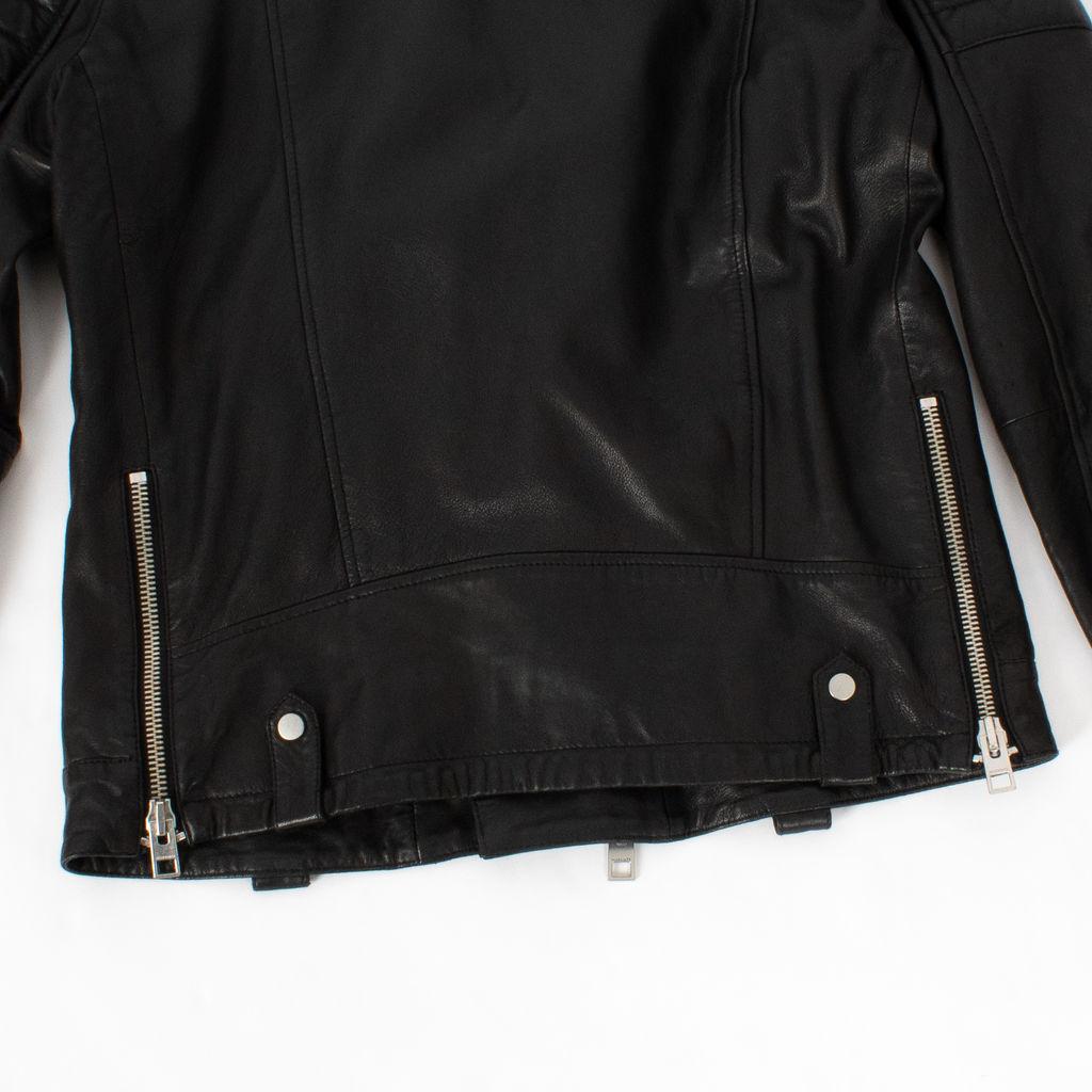 b32feeb85 All Saints Jasper Leather Biker Jacket   Basic Space
