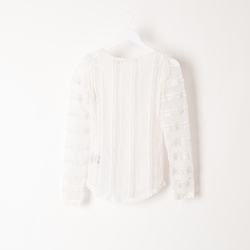 Isabel Marant Lace Top curated by Olivia Lopez