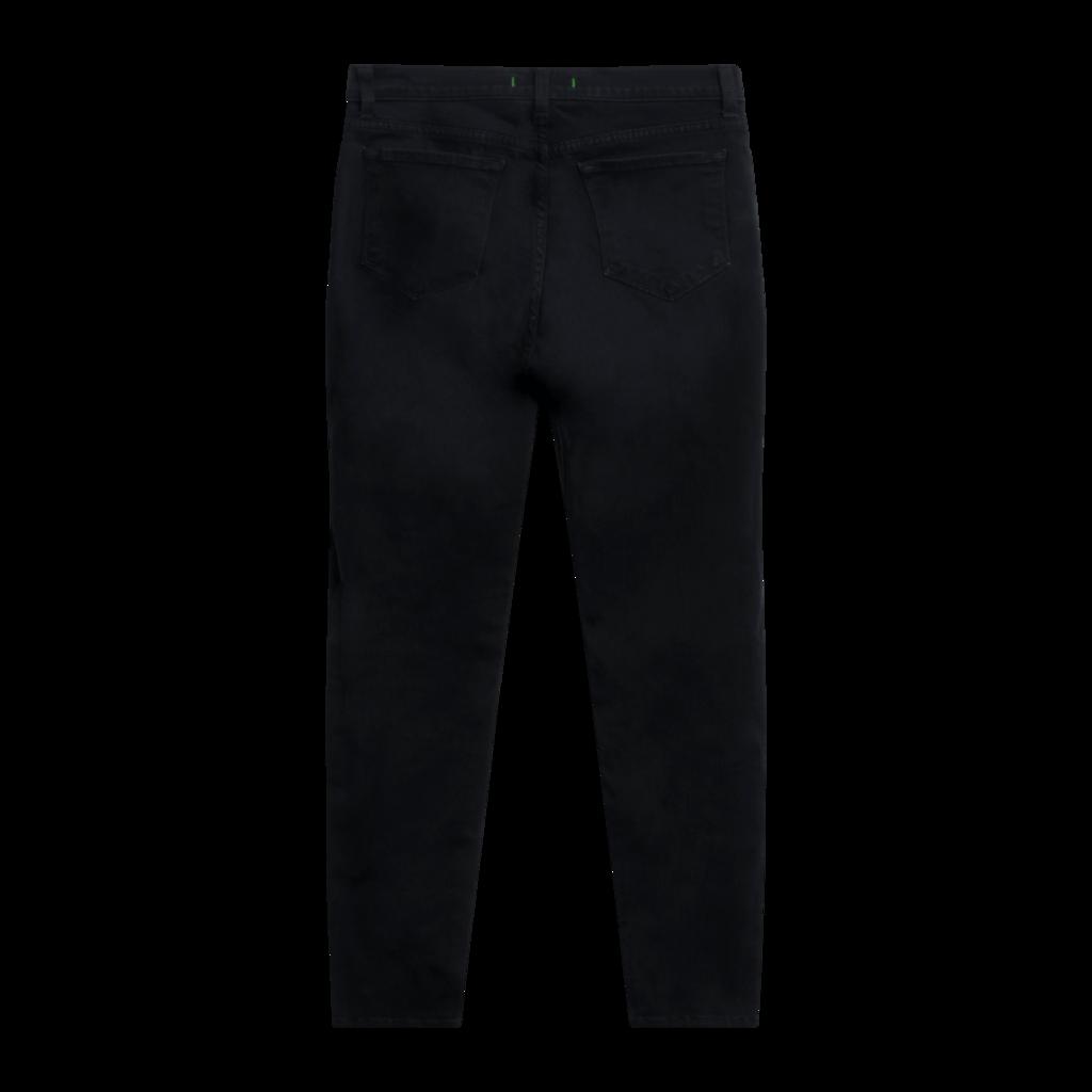 J Brand Zoey Triple Zip Skinny Jeans in Black