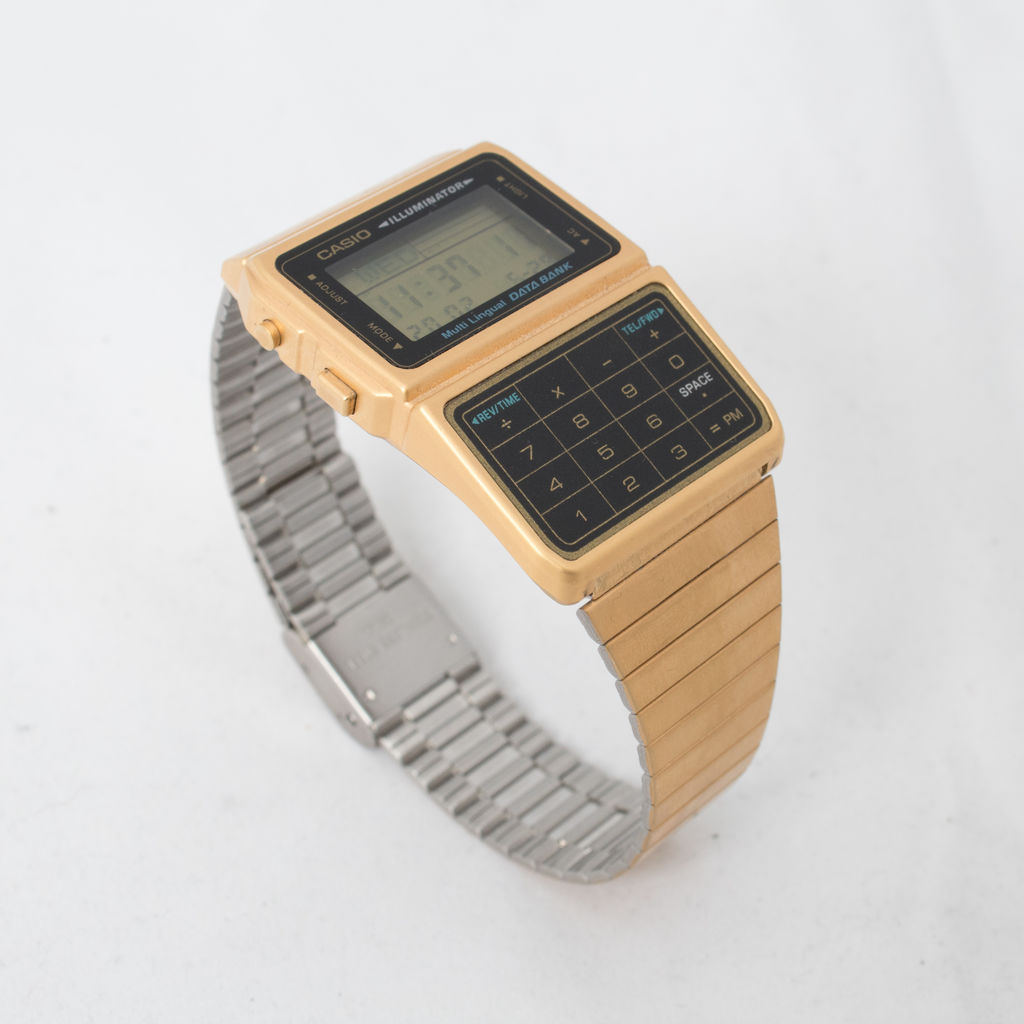Gold Casio Watch curated by Lilah Summer