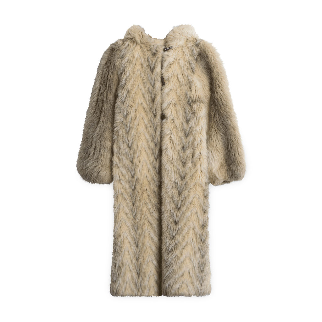 Neimen-Marcus Faux Fur Coat
