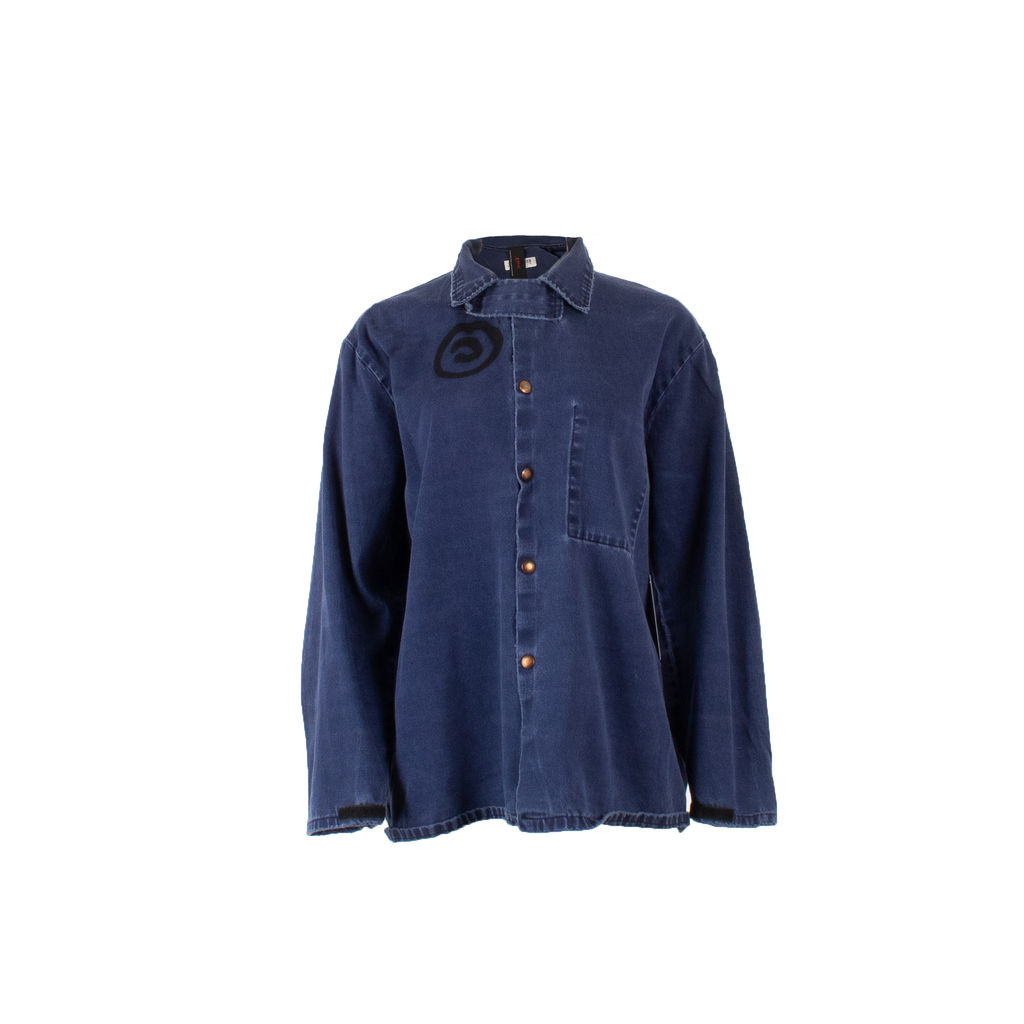 Sami Miro Vintage x André Saraiva Exclusive Denim Overshirt - Custom One of One