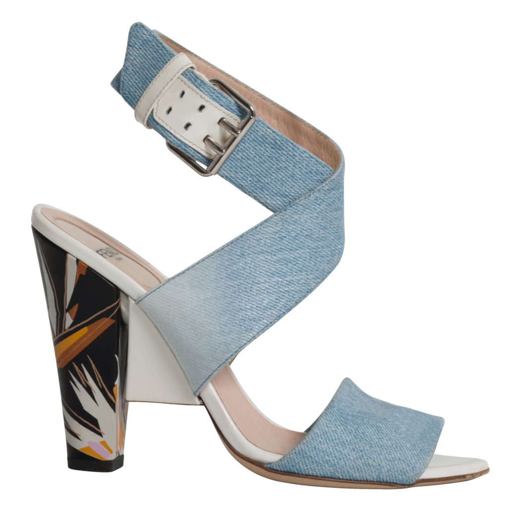 Fendi Birds of Paradise Sandals