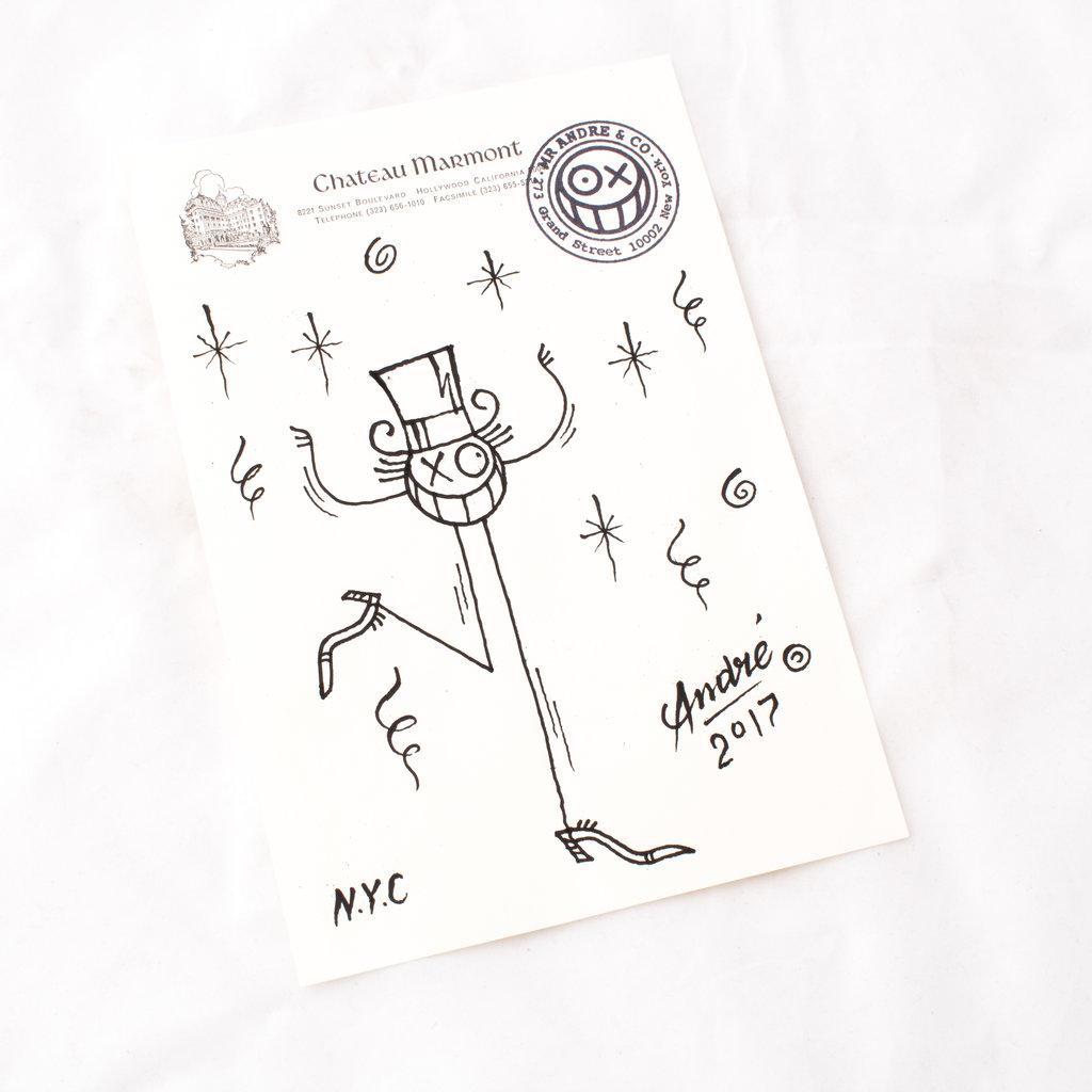 Mr. Andre Original Drawing