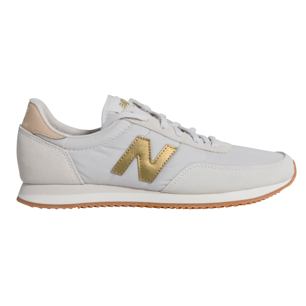 New Balance 720 Sneaker - Sea Salt/Classic Gold
