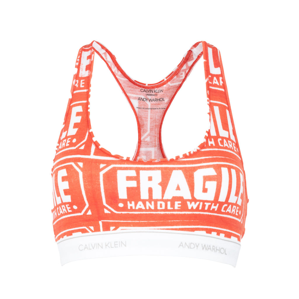 Calvin Klein x Andy Warhol Fragile Bra