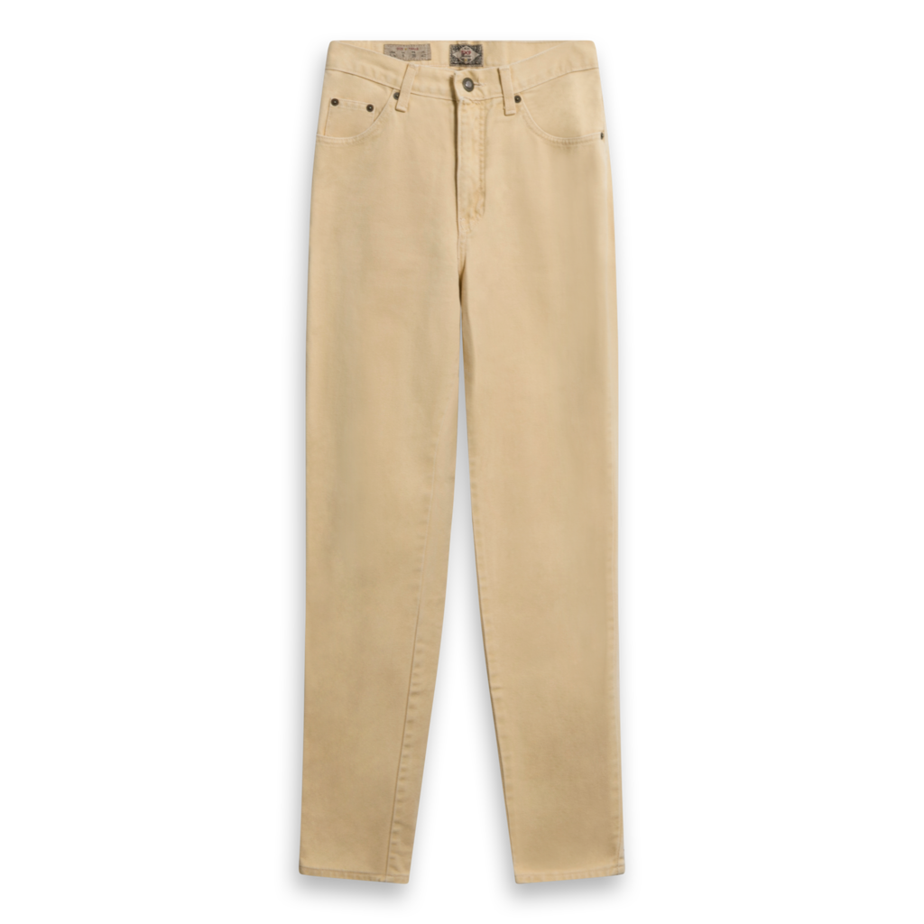 Express Vintage Washed Gold Pant