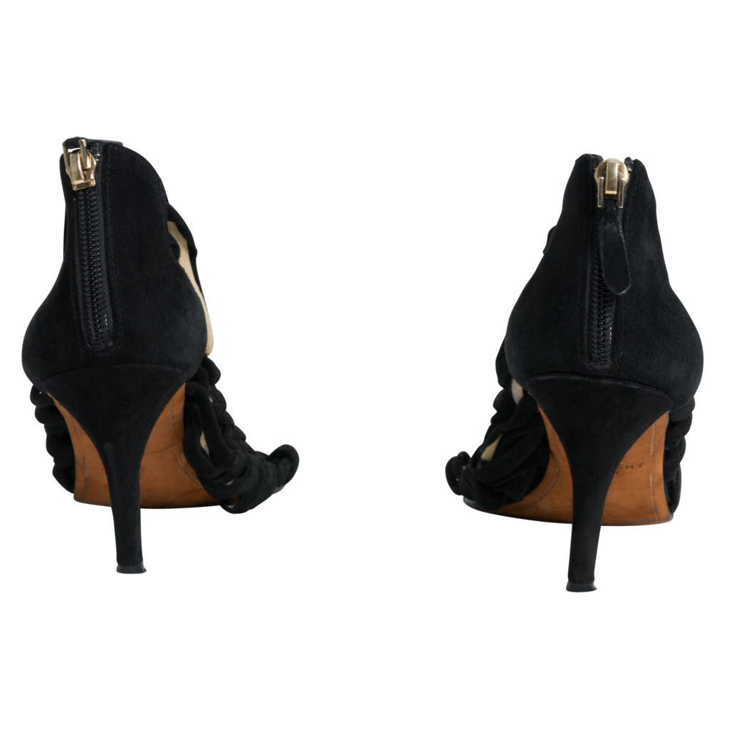 Givenchy Suede Cage Heel