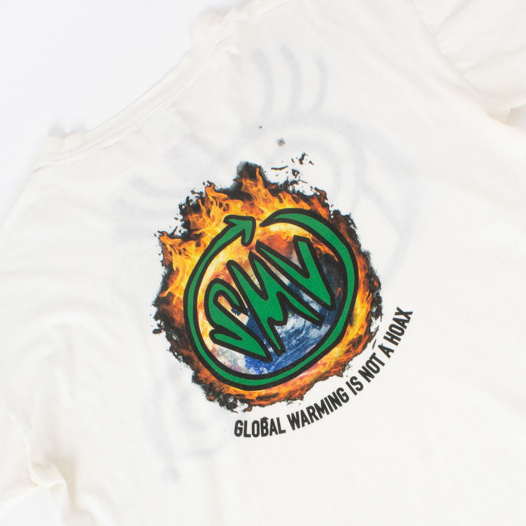 Sami Miro Vintage x André Saraiva Exclusive Global Warming T Shirt - Custom One of One
