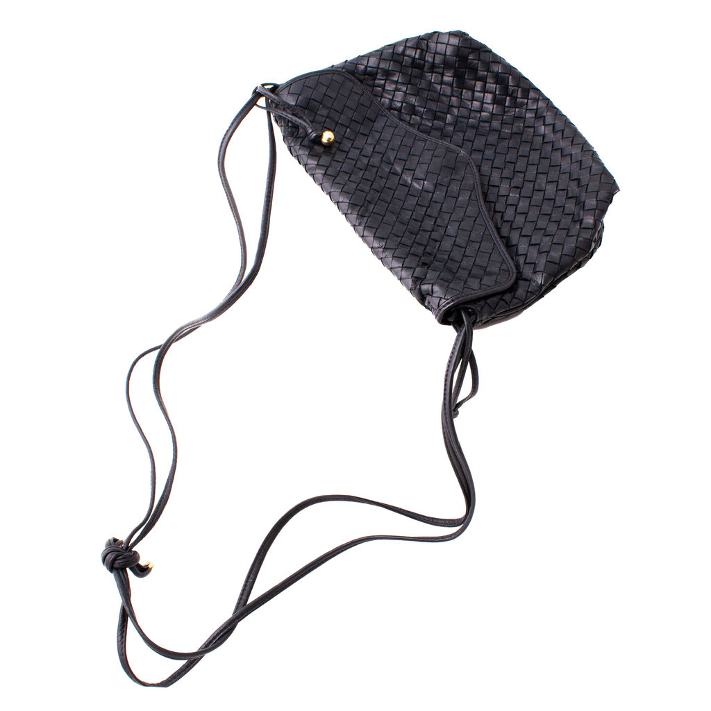 Vintage Woven Shoulder Bag