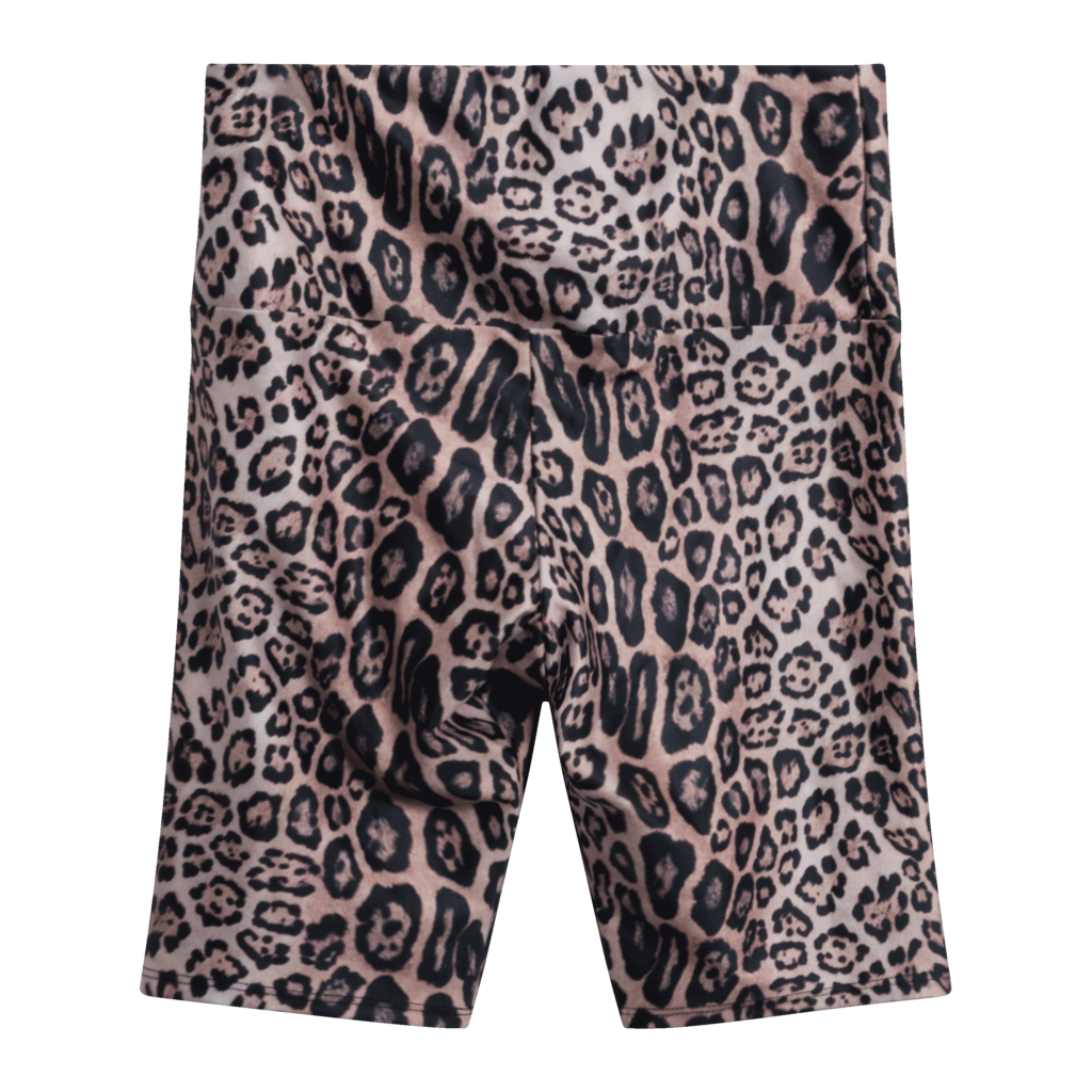 Onzie High Rise Leopard Biker Shorts