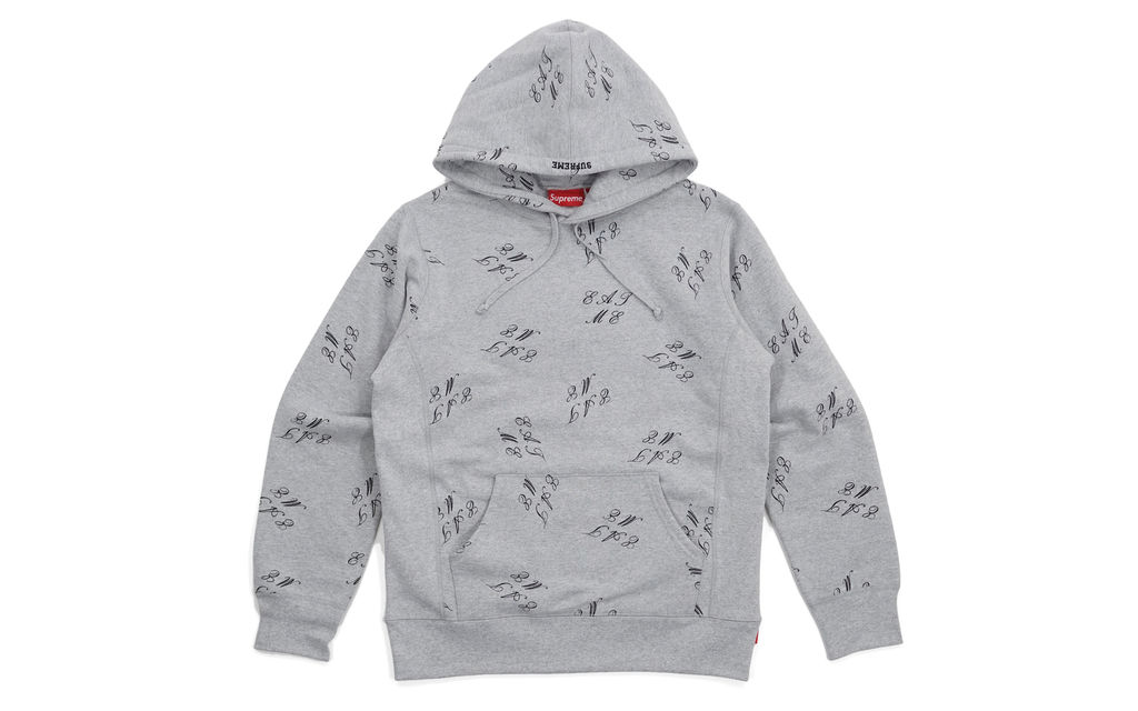 Supreme Eat Me Hooded Sweatshirt
