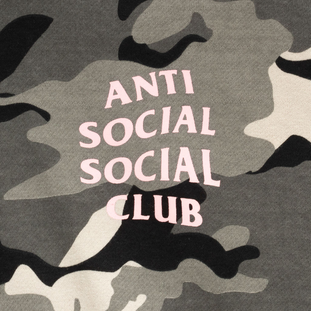 Anti Social Social Club Snow Camo Hoodie