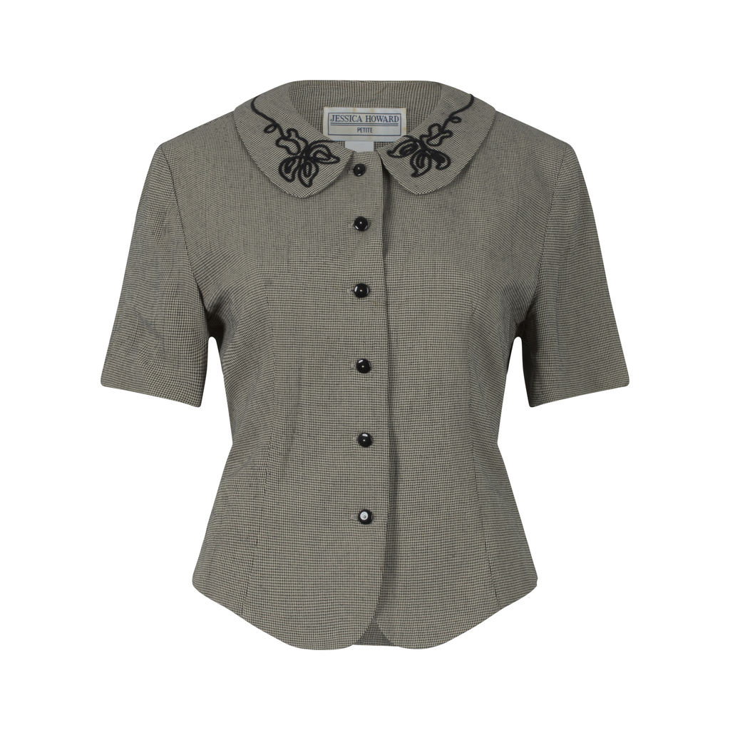 Vintage Jessica Howard Collared Top