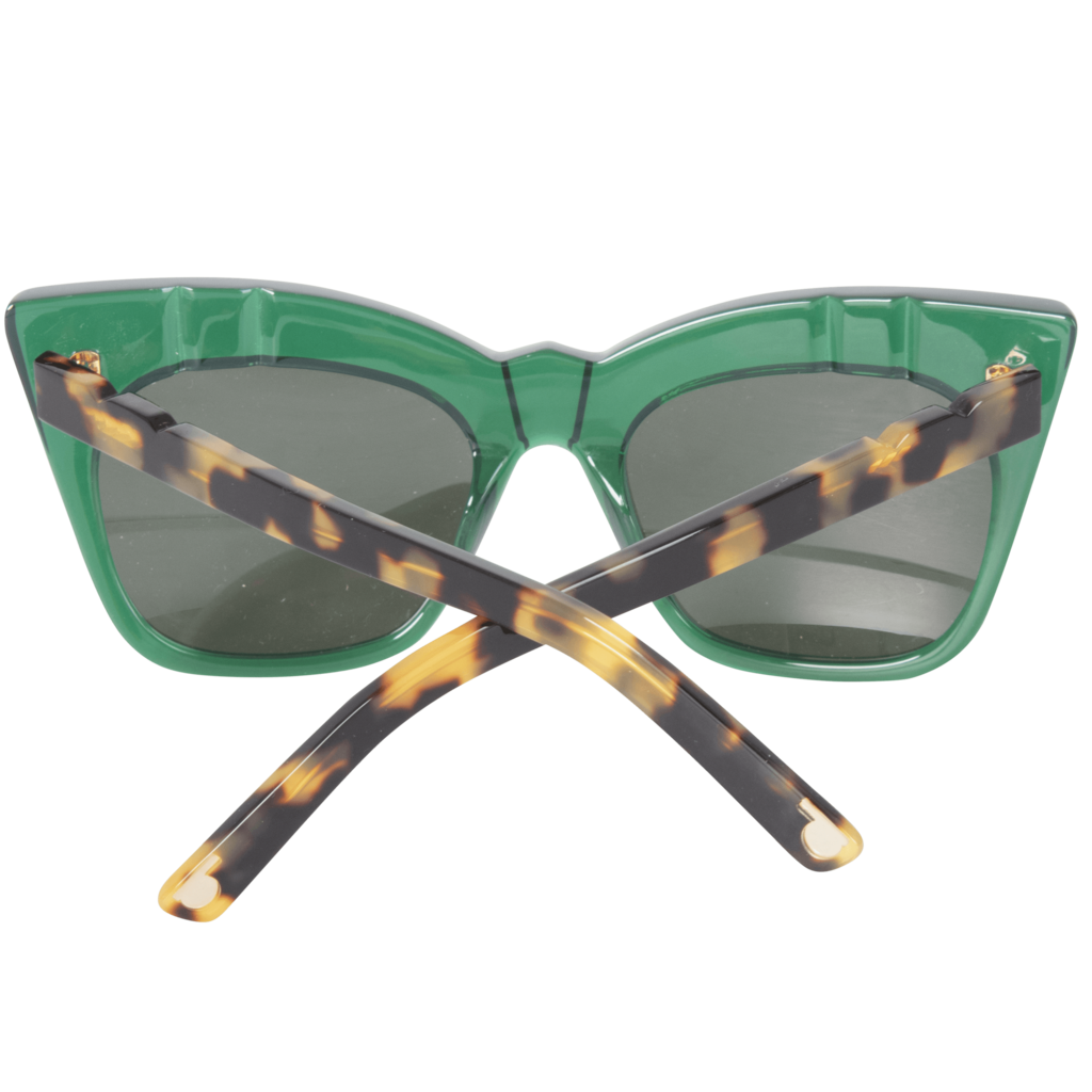 Pared Eyewear Cat Eye Sunglasses- Emerald