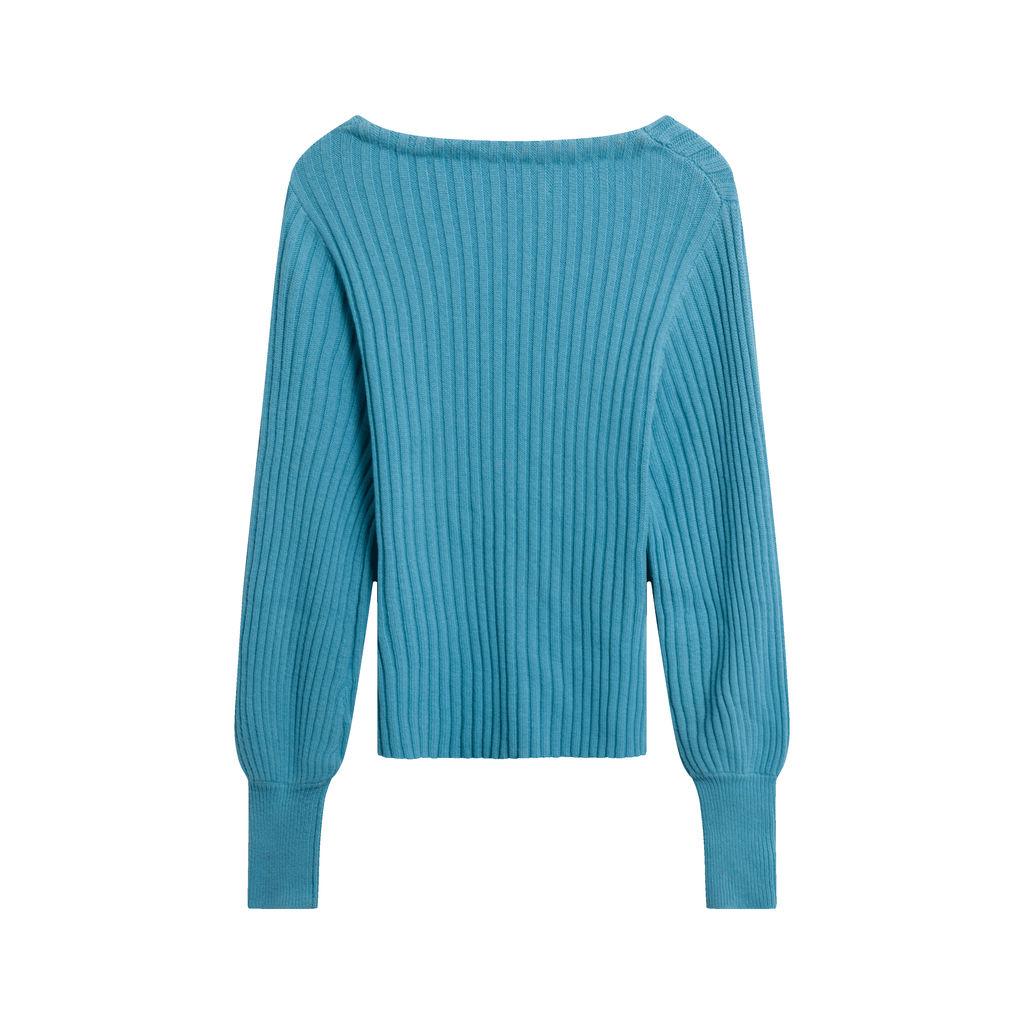 Wilfred Aritzia Blue Cashmere