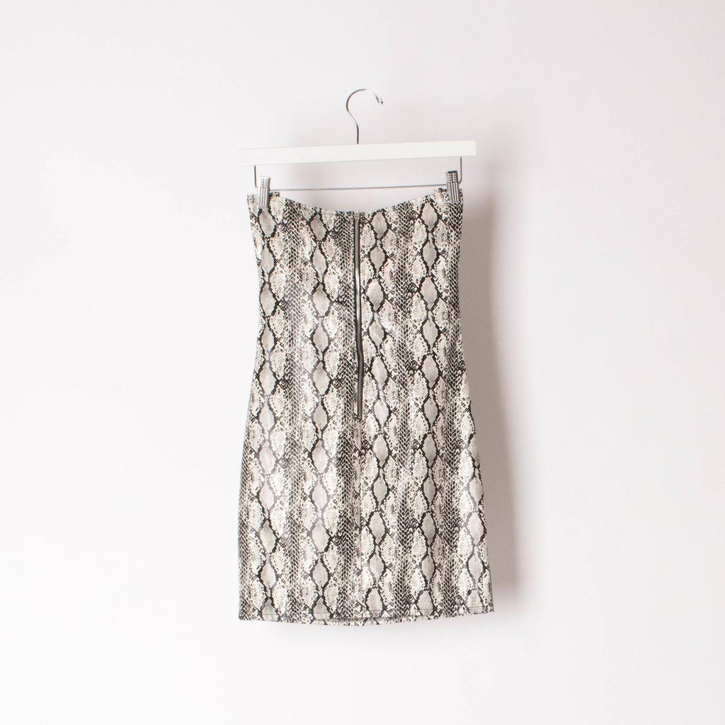 I.AM.GIA Snakeskin Mini Dress