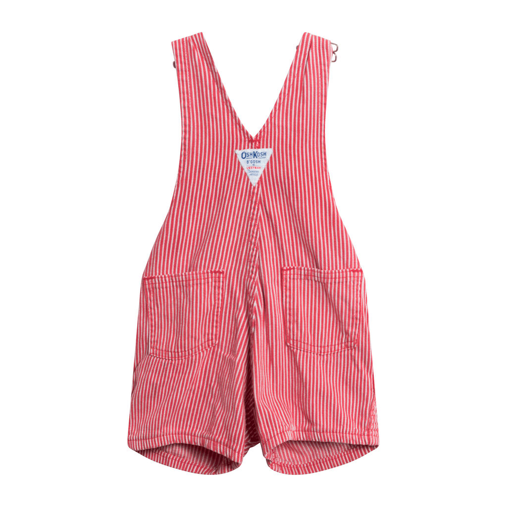 Vintage OshKosh Overalls-Red
