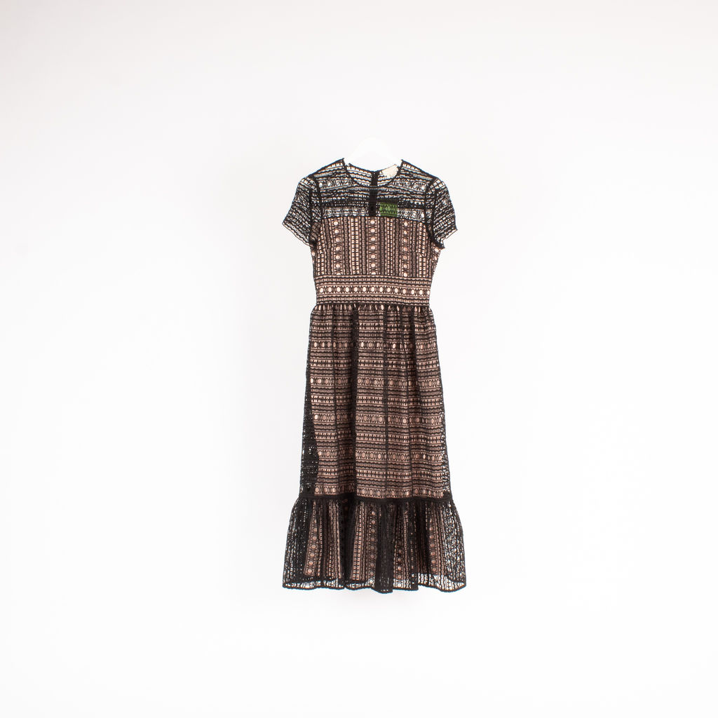 Kate Spade Mixed Lace Dress