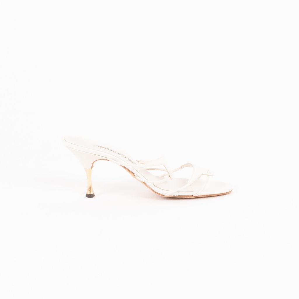 Manolo Blahnik Strappy Heeled Sandals