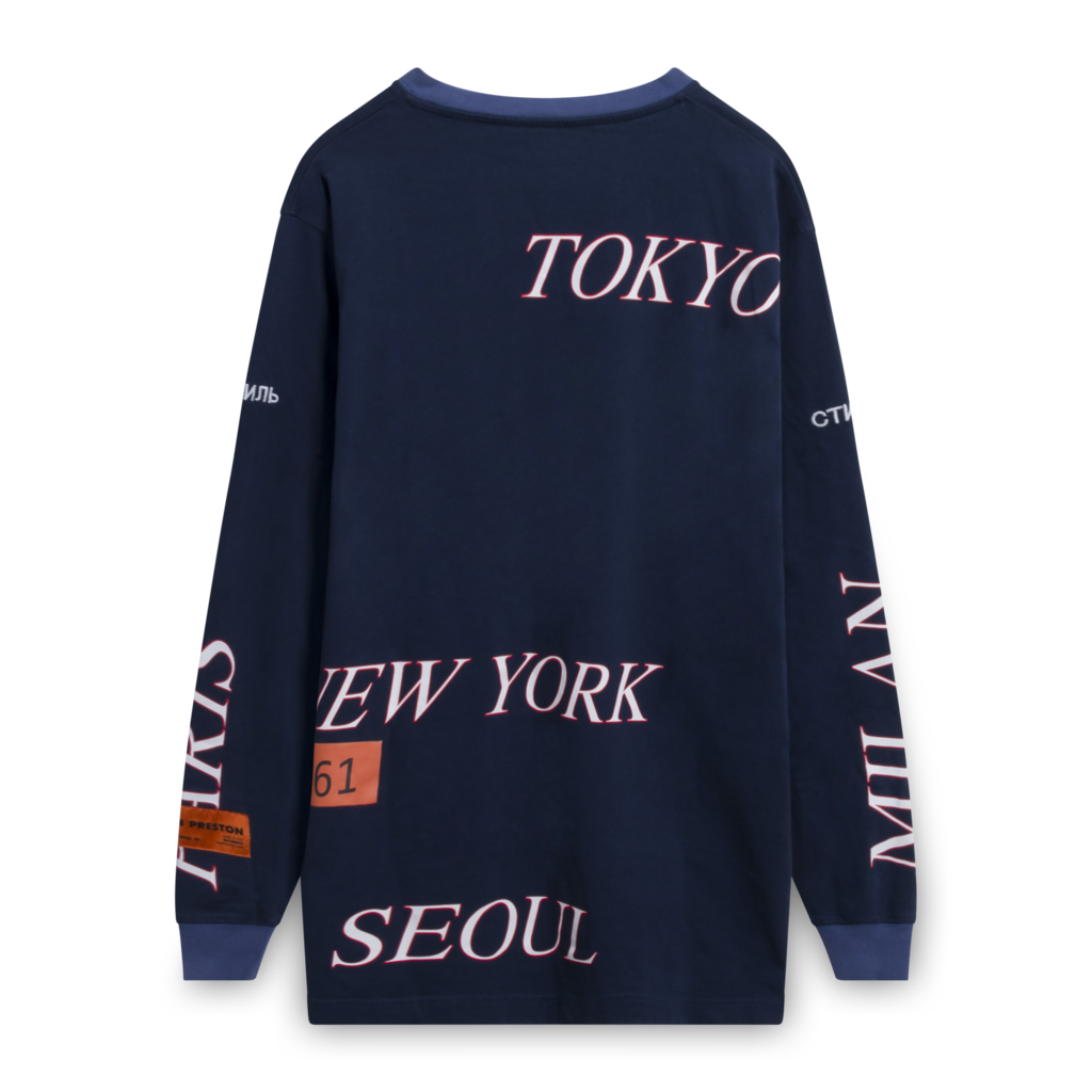 Heron Preston World Tour Tee