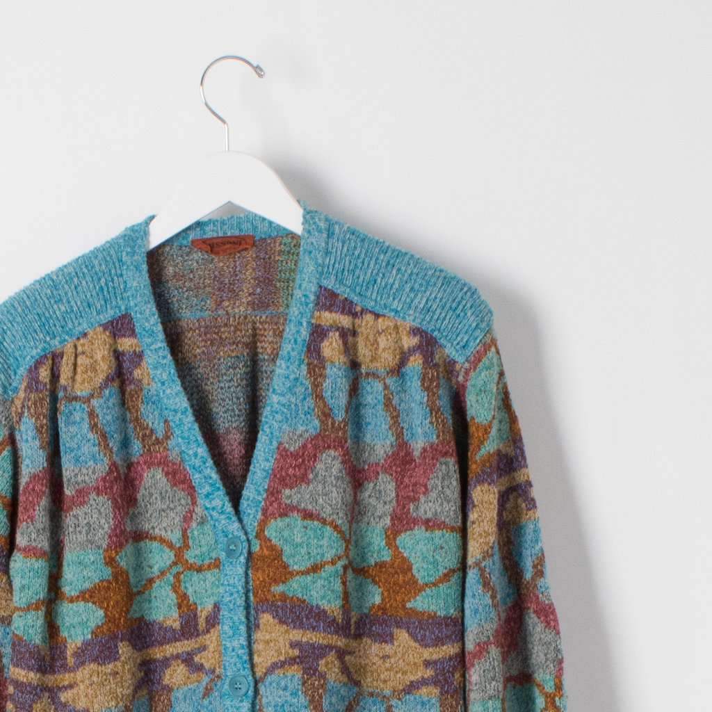 Vintage Missoni Cardigan curated by Sophia Amoruso