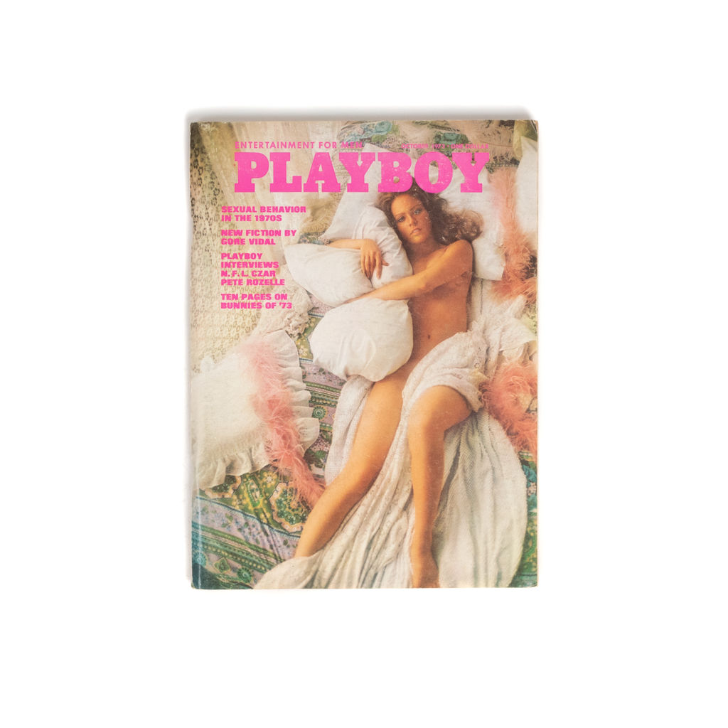 Playboy Magazine October 1973
