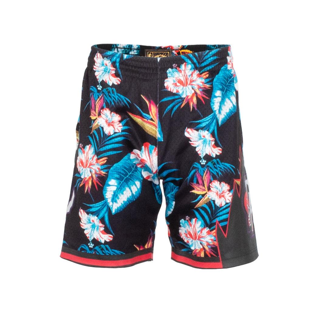 Mitchell & Ness NBA Floral Swingman Shorts