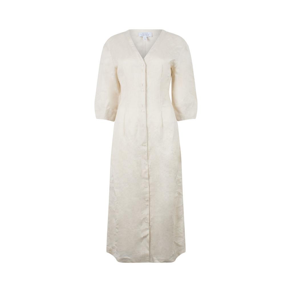 & Other Stories Linen Blend Cotton Dress
