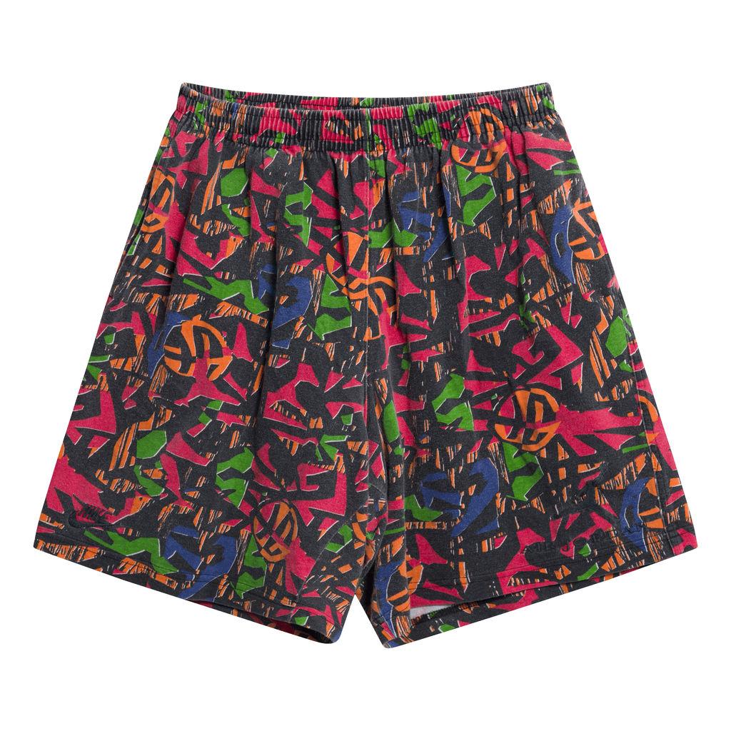 Vintage Nike Shorts Multi Color Pattern
