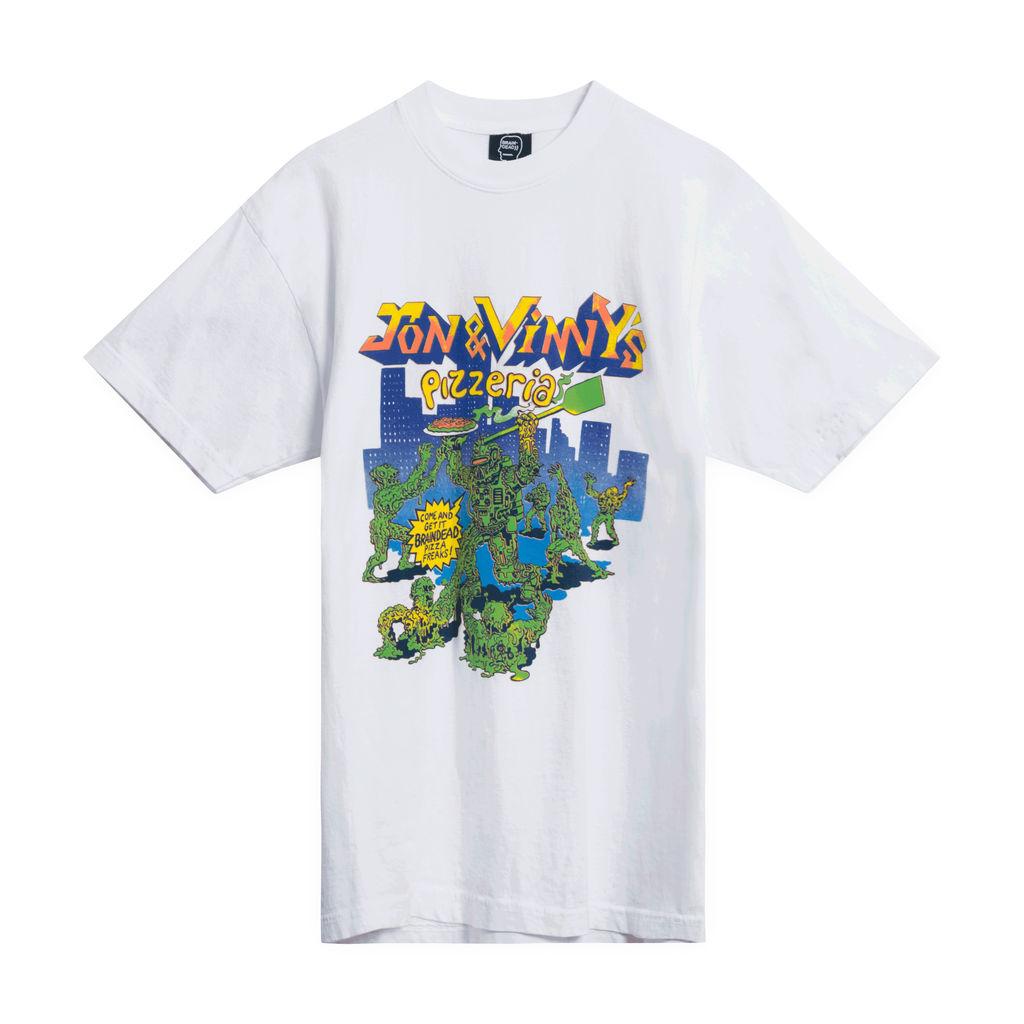 Brain Dead Jon and Vinny's Pizzeria T-Shirt