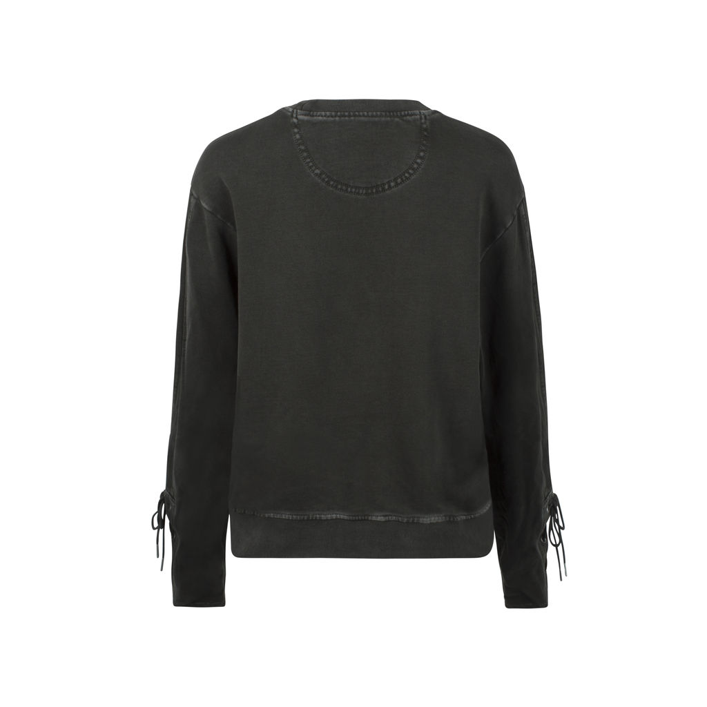 Marc By Marc Jacobs Lace-Up Stonewashed Sweater