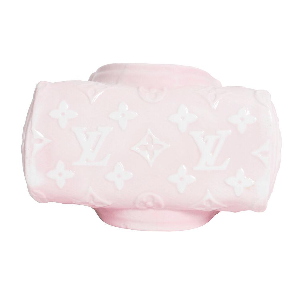 Ceramic LV Vase - Pink