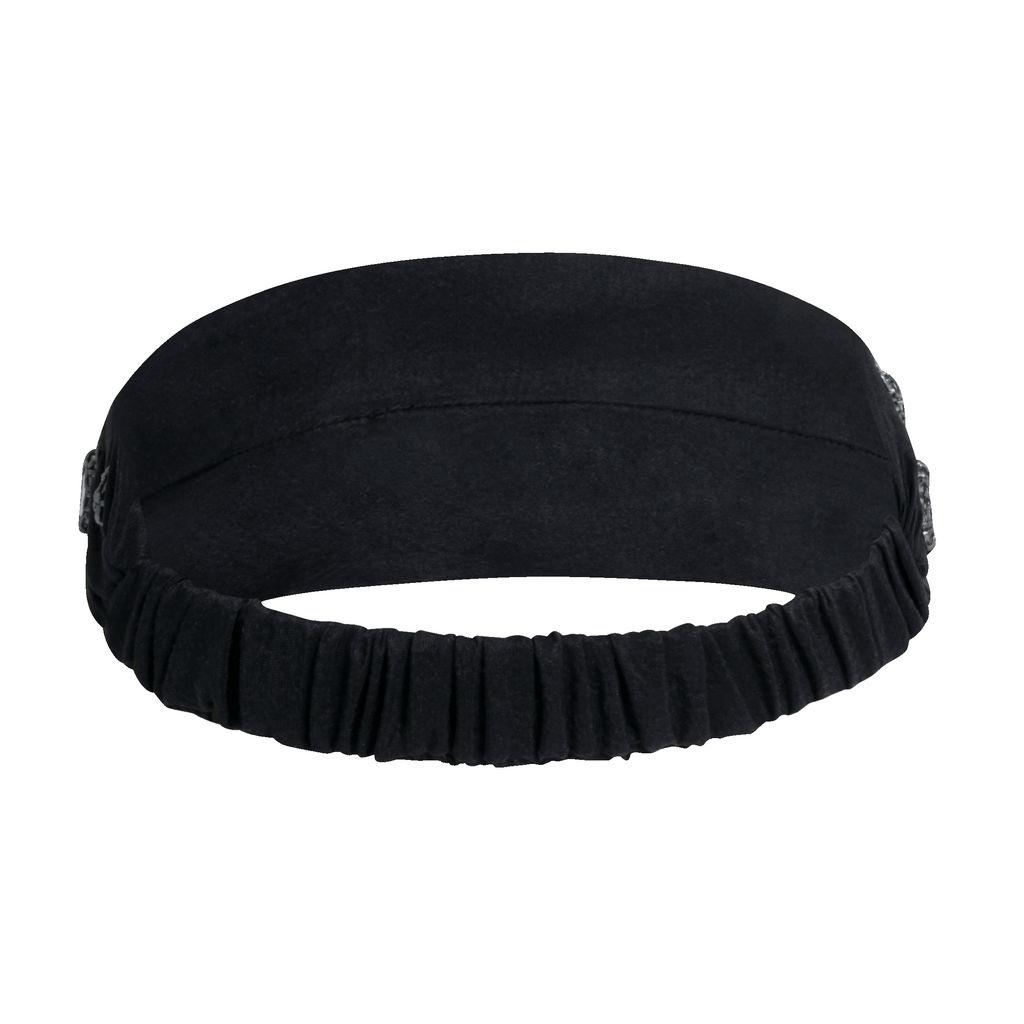 Azeeza Gunmetal Embellished Elastic Headband