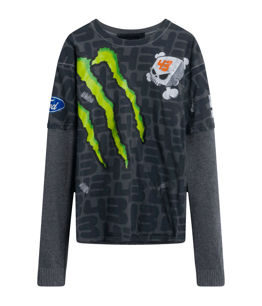 Vintage Yves Monster Energy Racing Shirt