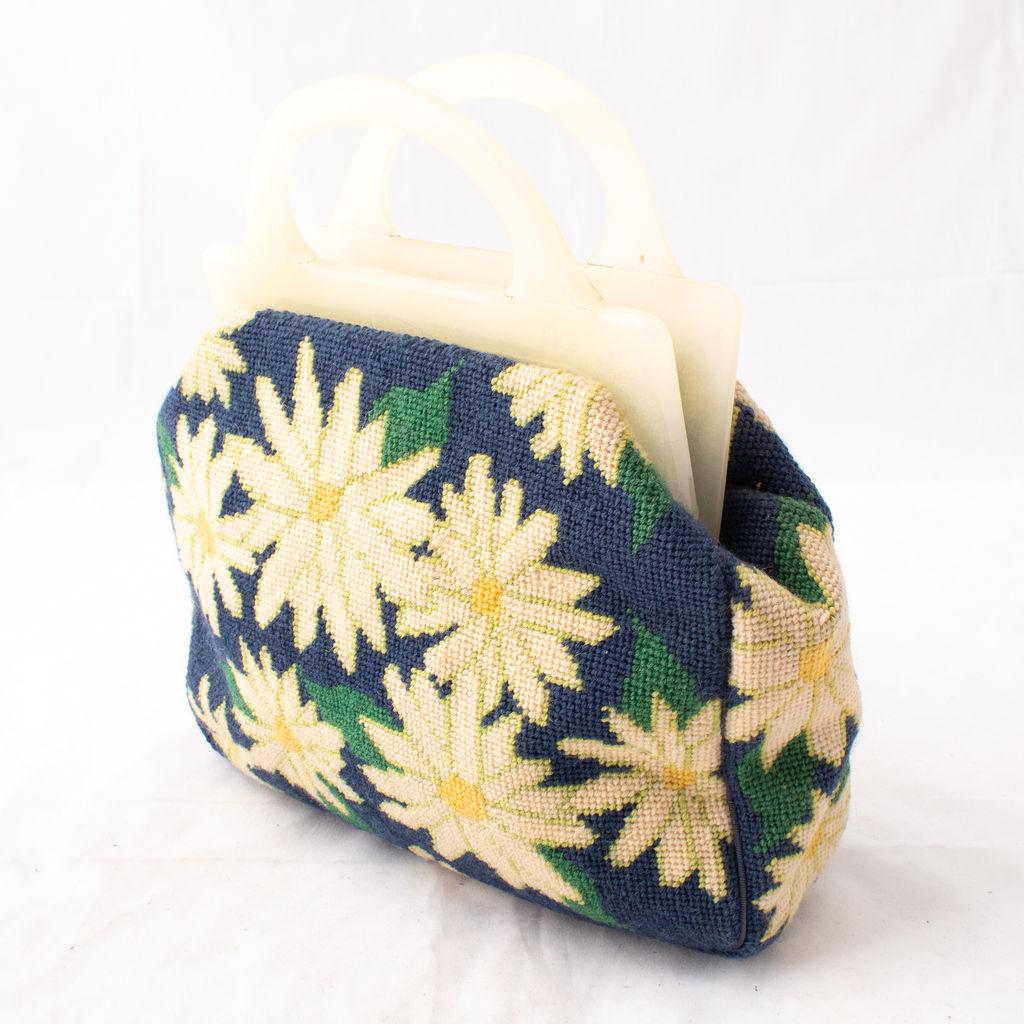 Vintage Sunflower Handbag