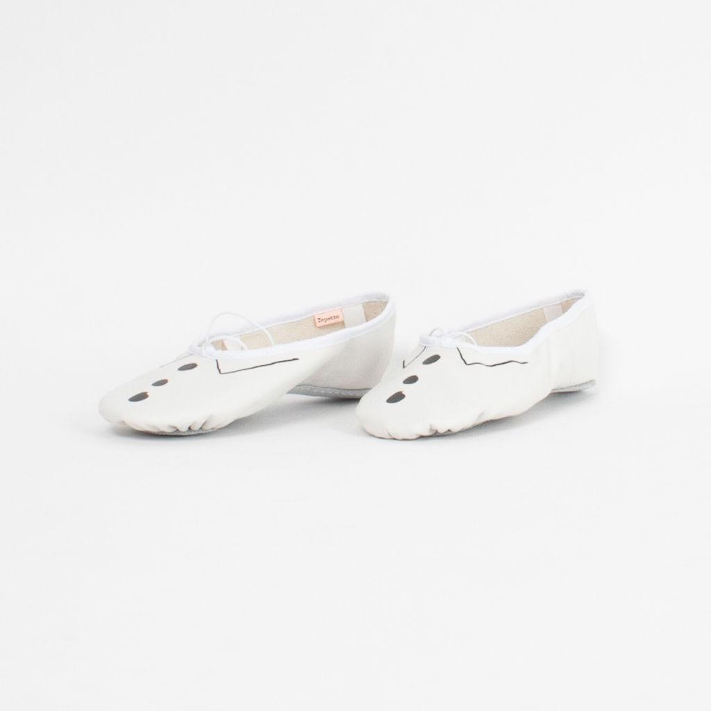 Sia x Repetto Tuxedo Ballet Shoes