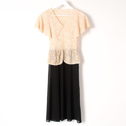 Vintage Lace Cap Sleeve Dress curated by Sophia Amoruso