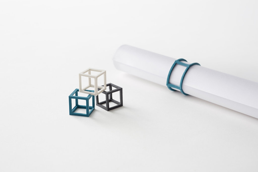 Japanese Cube Rubber Bands