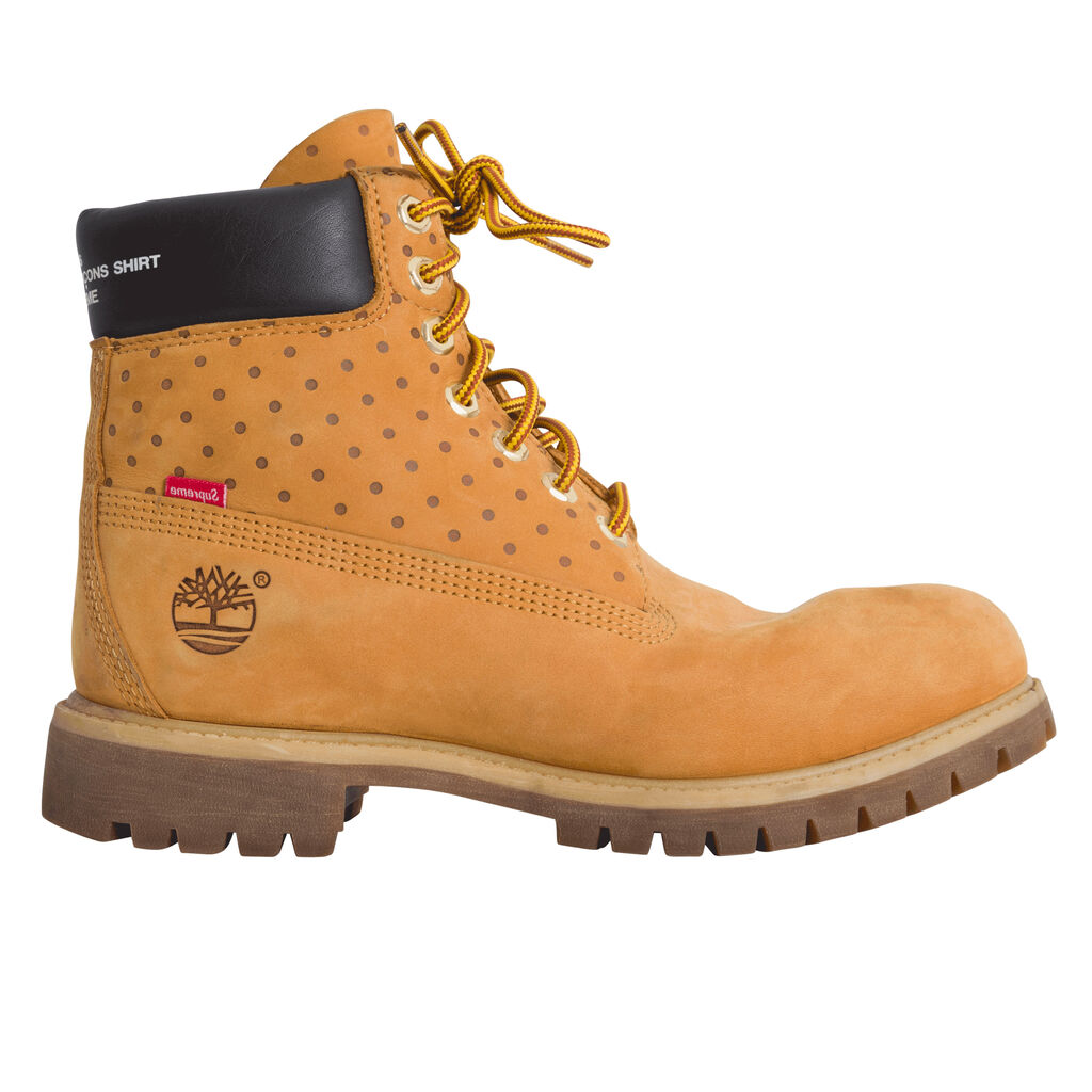 """Timberland 6"""" Boot Supreme x Comme des Garcons"""