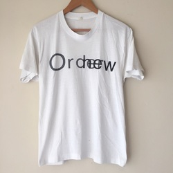 Vintage 80s New Order Promo Shirt - New Wave  curated by Scott Hopkins