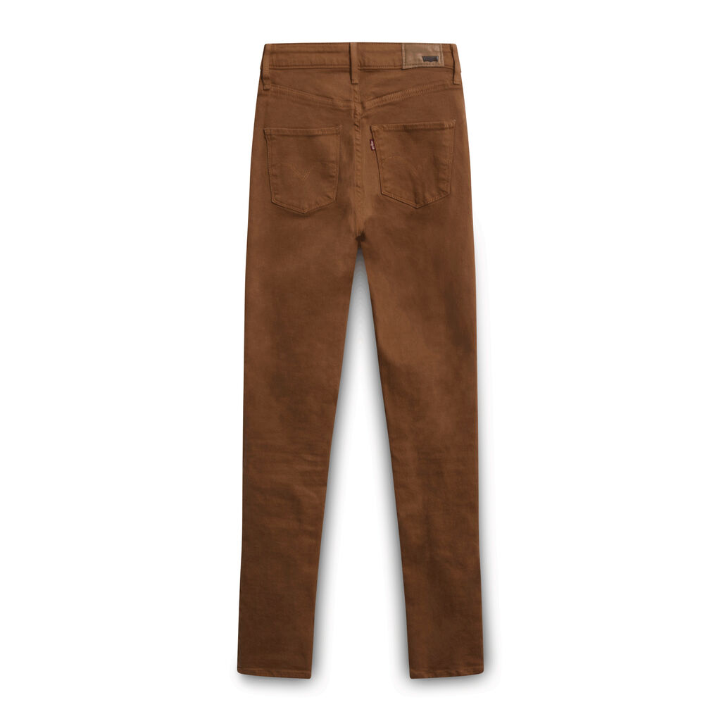Levi's High Rise Skinny Jeans - Brown