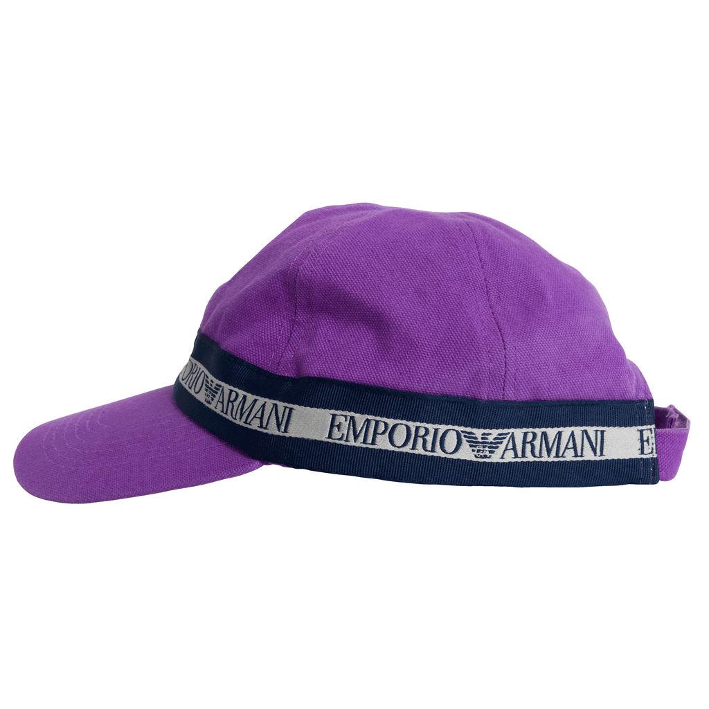 Vintage Emporio Armani Cap - Purple