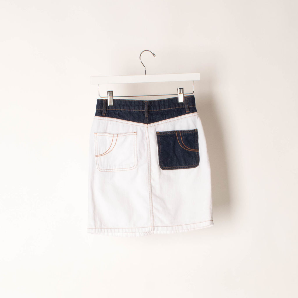 Maje Jodis Denim Mini Skirt