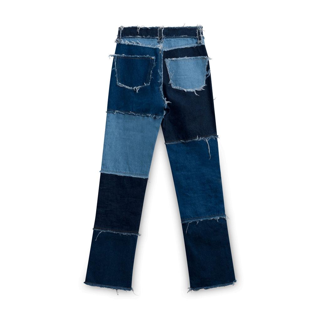 Jaded London Patch Work Boyfriend Jeans
