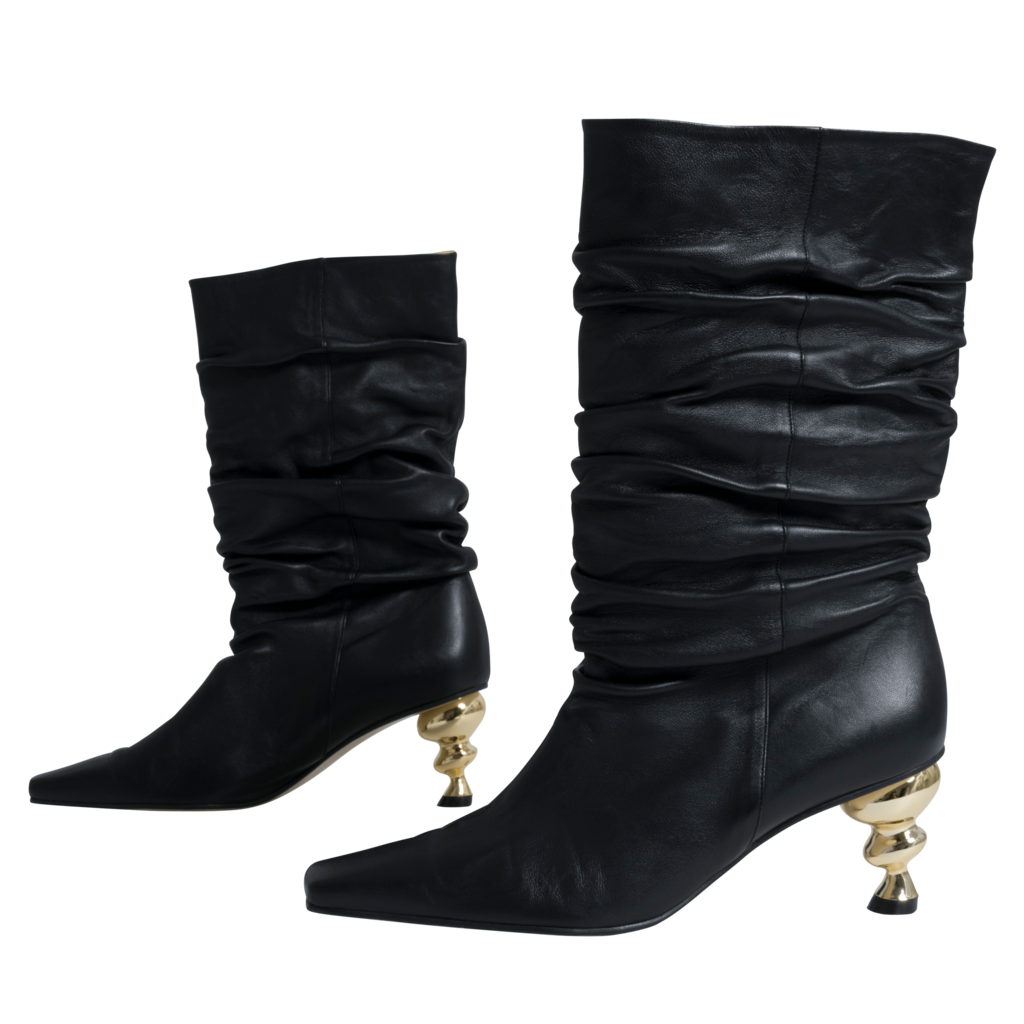 Yuul Yie Leather Slouch Boot