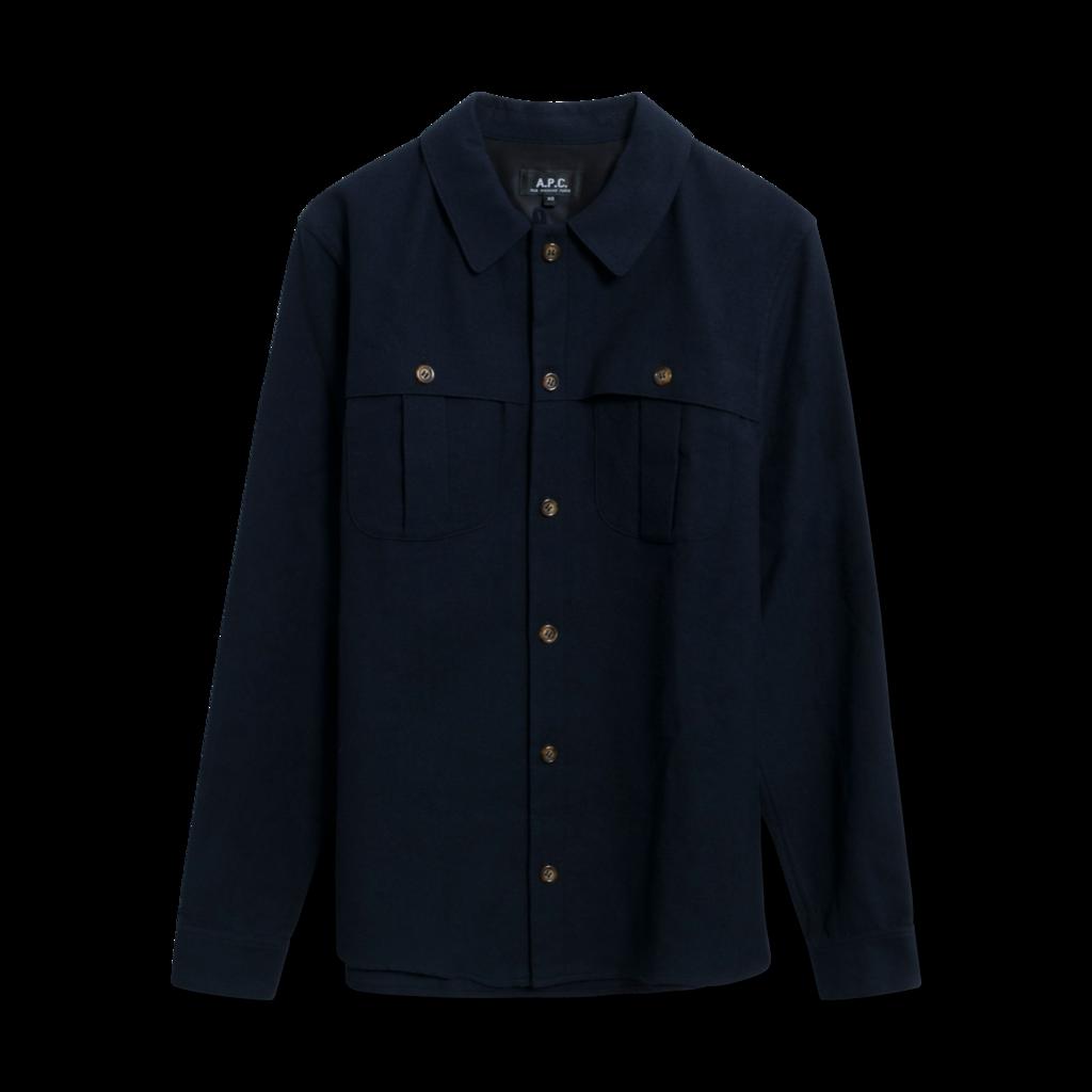 APC Wool Utility Shirt
