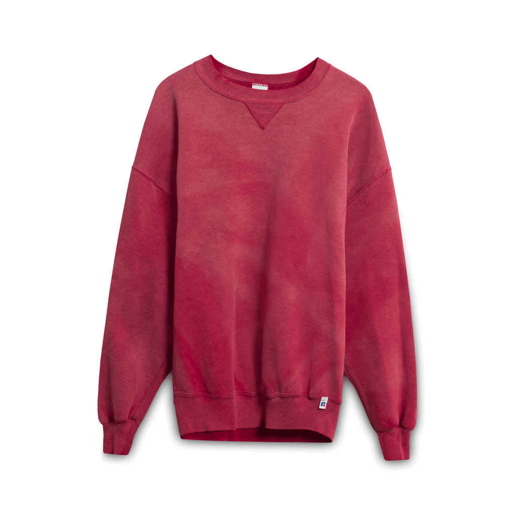 Vintage Russell Crewneck- Faded Red