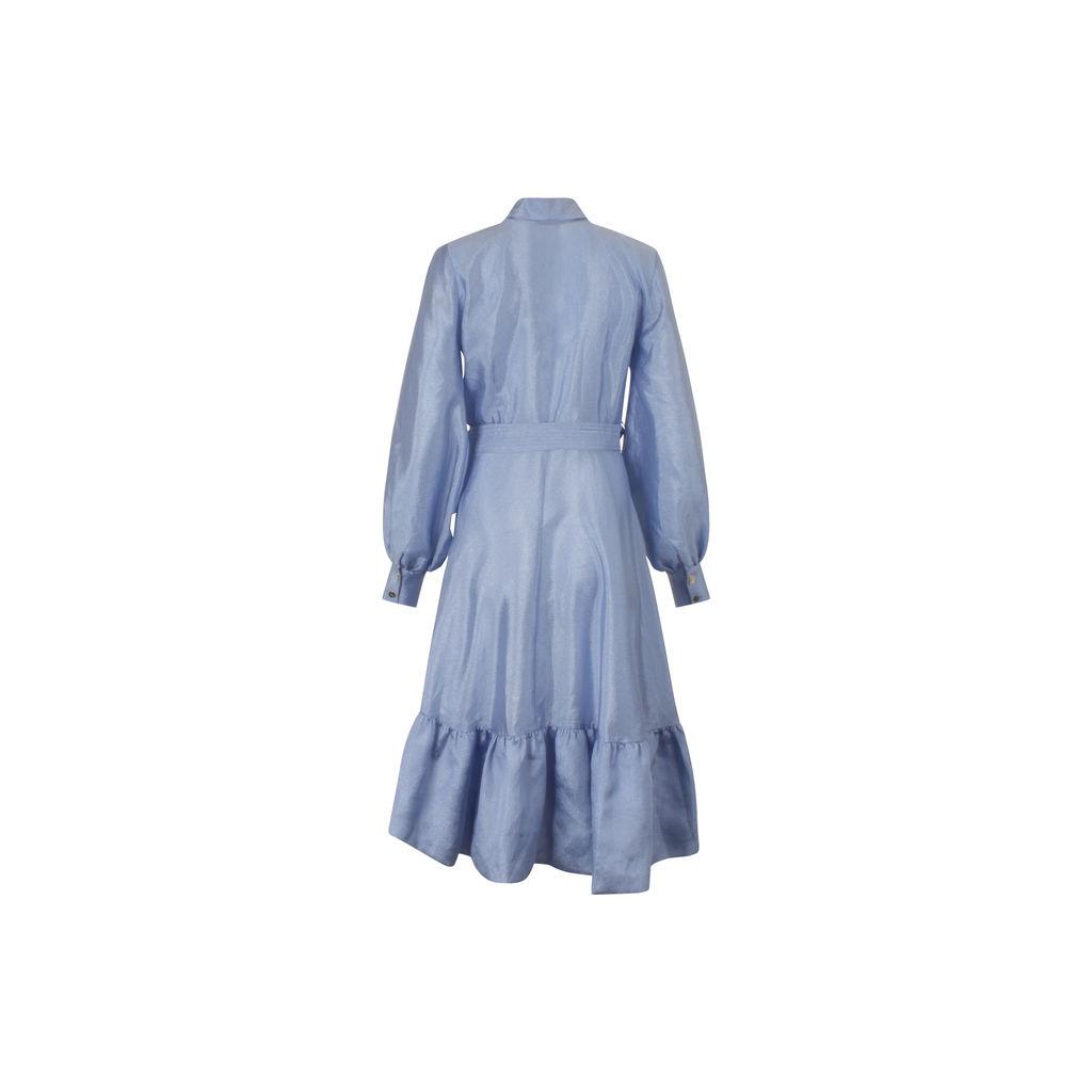 Stine Goya Niki Dress in Sky Color